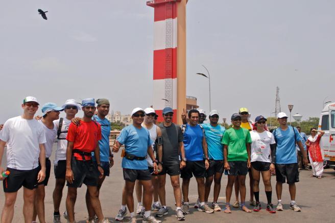The midday madness run with Chennai Runners. Photo by Panduranga Raju
