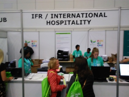 The International Runners counter